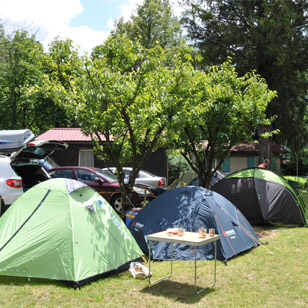 Alpicenter Base Camp Bovec campsite