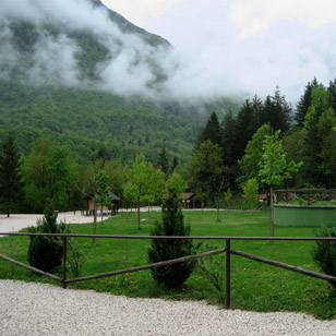 Alpi Center Vodenca campsite