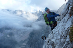Via ferrata and hiking Mangart Slovenia